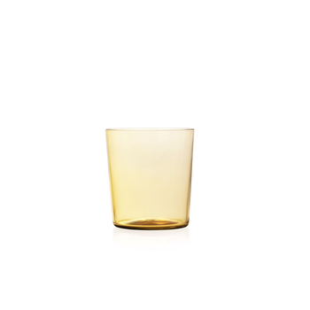 Nouvel Studio Small Apollo Tumbler in Amber Yellow | Set of 4