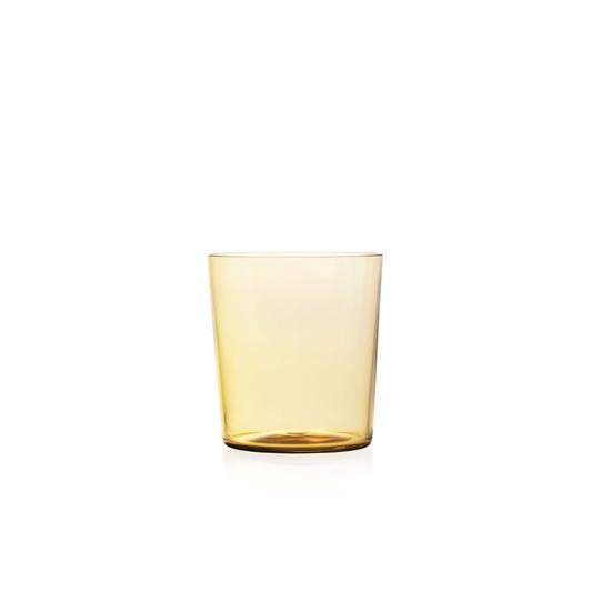 Nouvel Studio Small Apollo Tumbler in Amber Yellow | Set of 4
