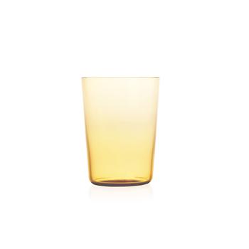 Nouvel Studio Large Apollo Tumbler in Amber Yellow | Set of 4