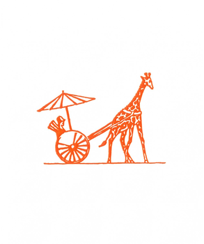 Thornwillow Press Giraffe, Set of 10
