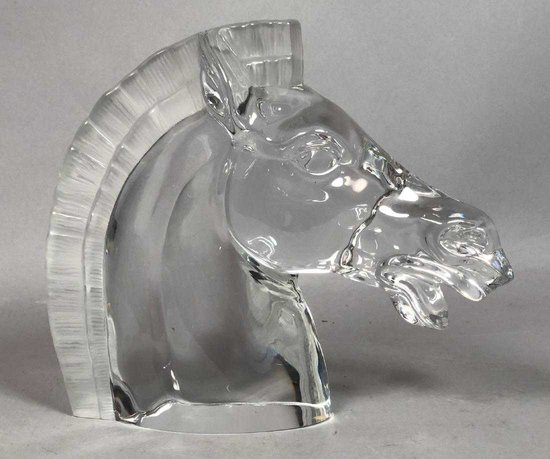 Franklin Mint Modernist Horse Head Marked The Franklin Mint