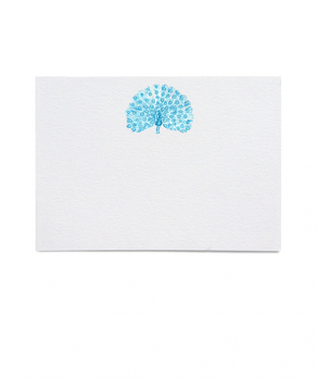 Thornwillow Press Peacock Open Fan Place Cards, Set of 16