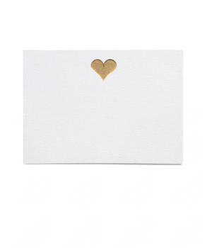 Thornwillow Press Heart Place Cards, Set of 16