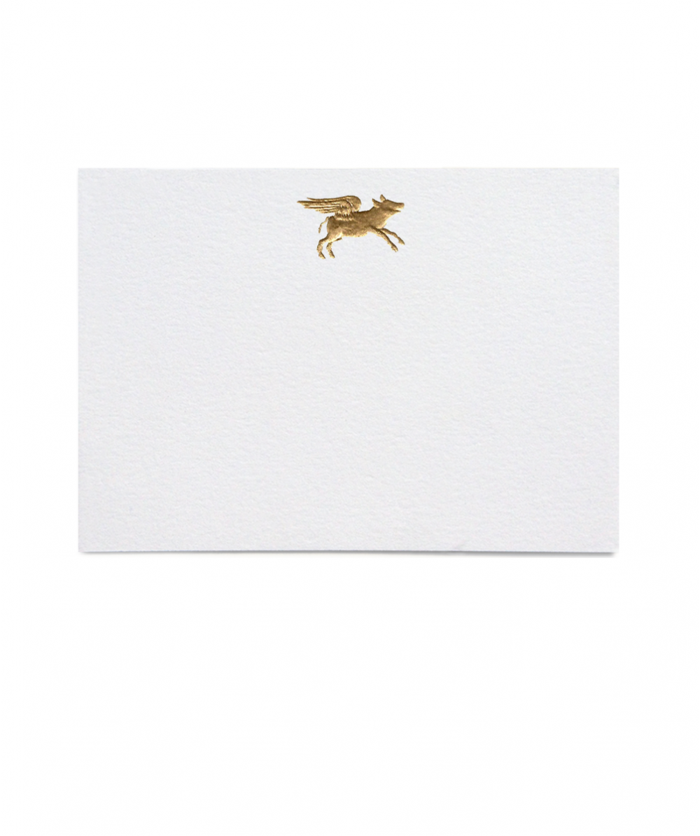 Thornwillow Press Flying Pig Place Cards, Set of 16