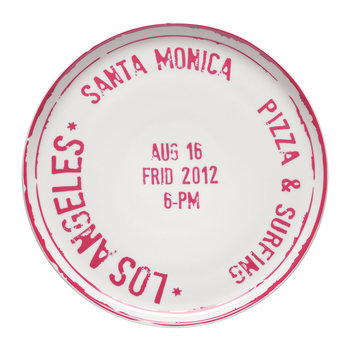 Bitossi Pizza Plate | Los Angeles