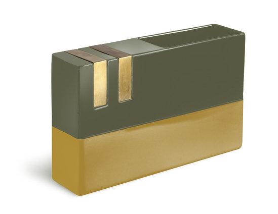 Bitossi DIM-7 | Ocra Verde Brass