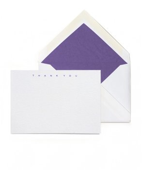 Thornwillow Press Advocat Thank You Card, Set of 10