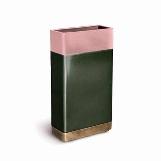 Bitossi DIM-6   Rosa Verde Brass