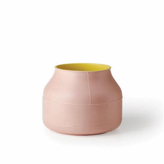 Bitossi Tub Vase in Rosa by Benjamin Hubert