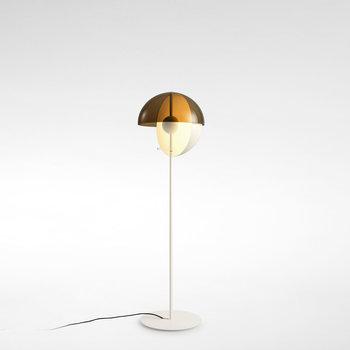 Marset Theia Floor Lamp in White by Mathias Hahn