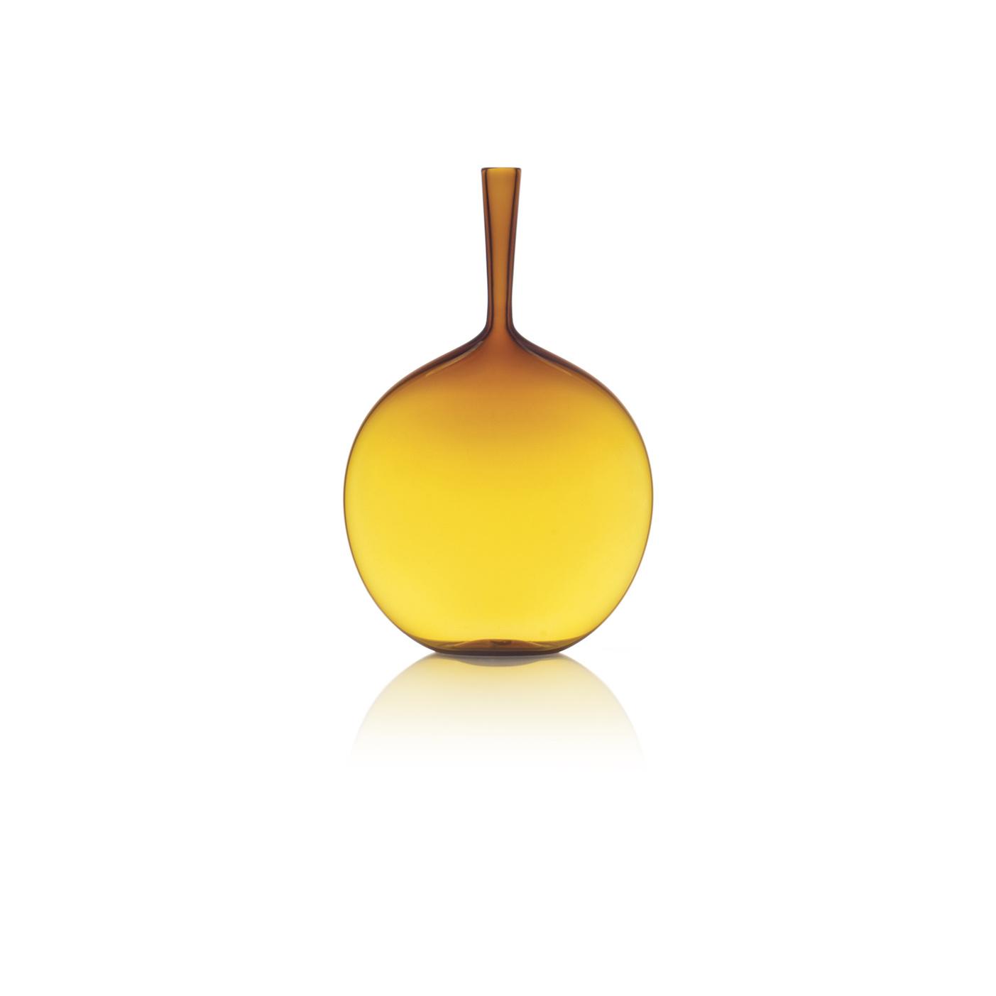 Joe Cariati Flask Angelic Bottle Amber