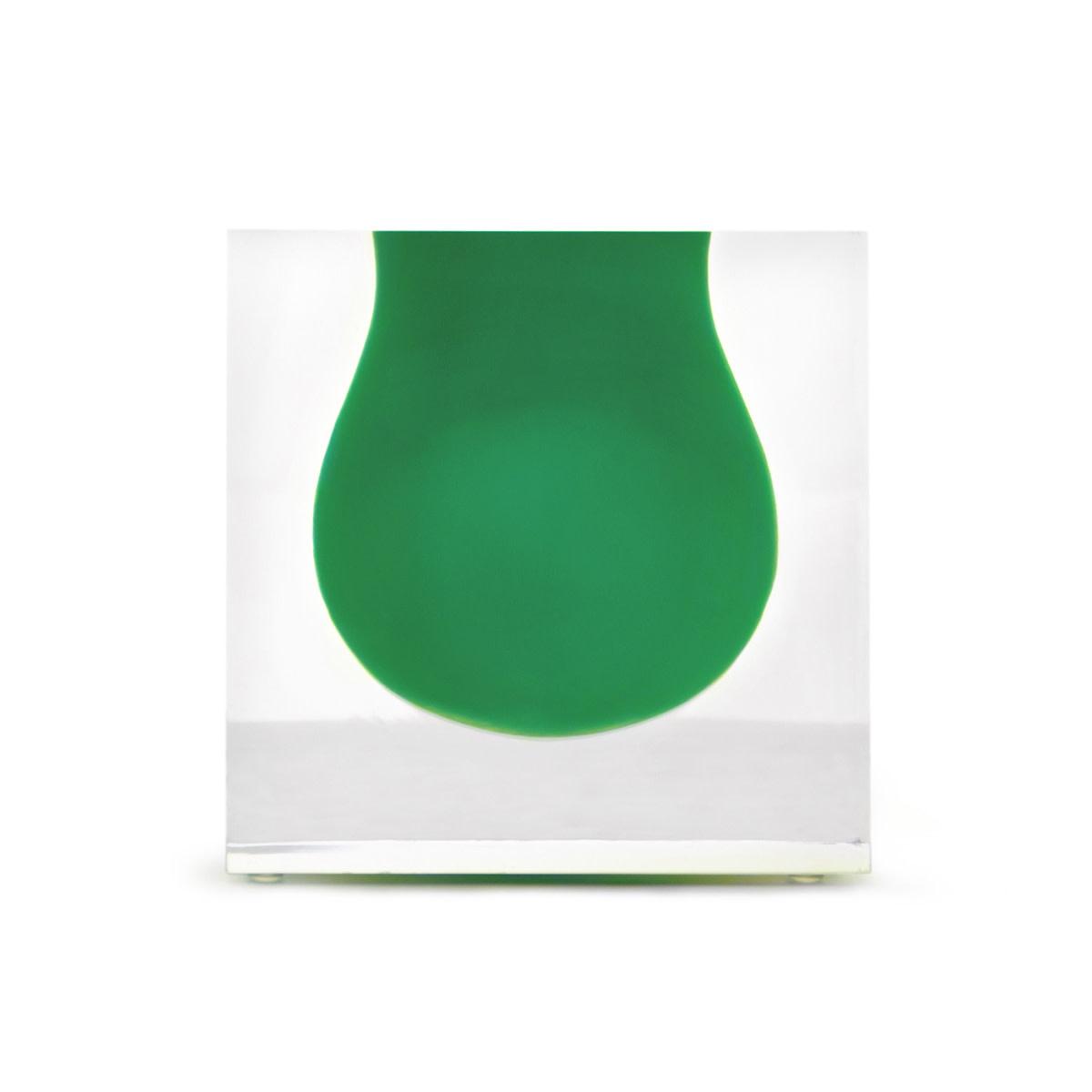 Jonathan Adler Bel Air Mini Scoop Vase Emerald