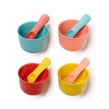 Ekobo Bambino Ice Cream Cup + Spoon Set