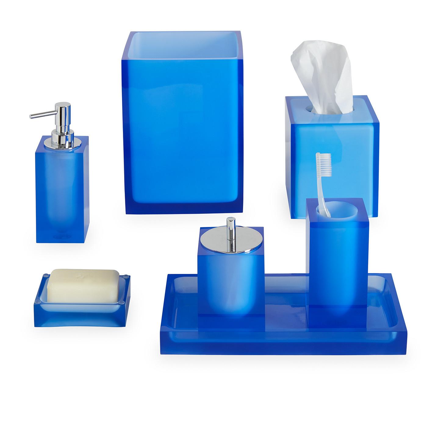 Jonathan Adler Hollywood Soap Dish Blue