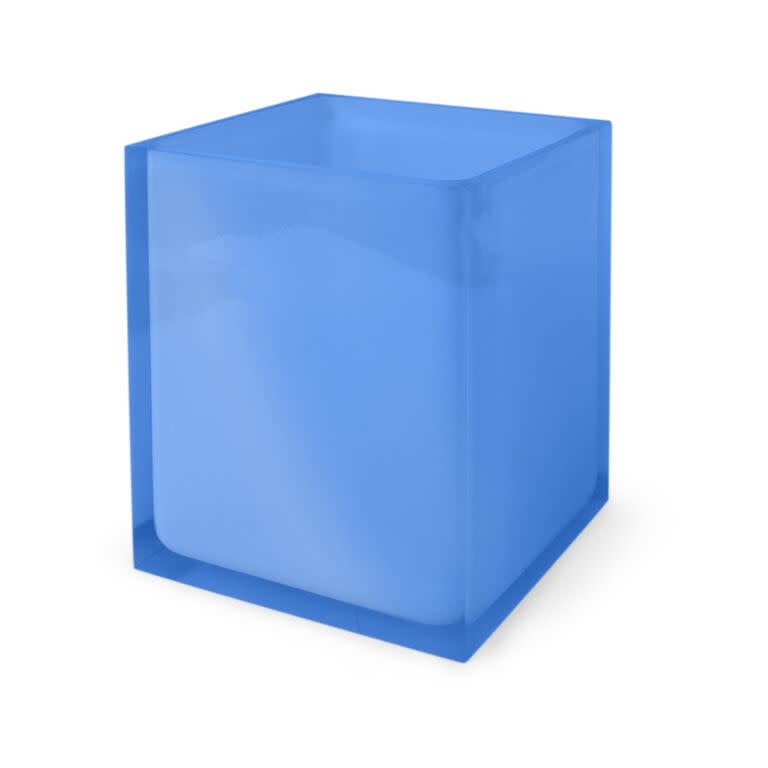 Jonathan Adler Jonathan Adler Hollywood Wastebasket | Blue