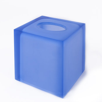 Jonathan Adler Hollywood Tissue Box | Blue