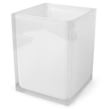 Jonathan Adler Jonathan Adler Hollywood Wastebasket |  Clear