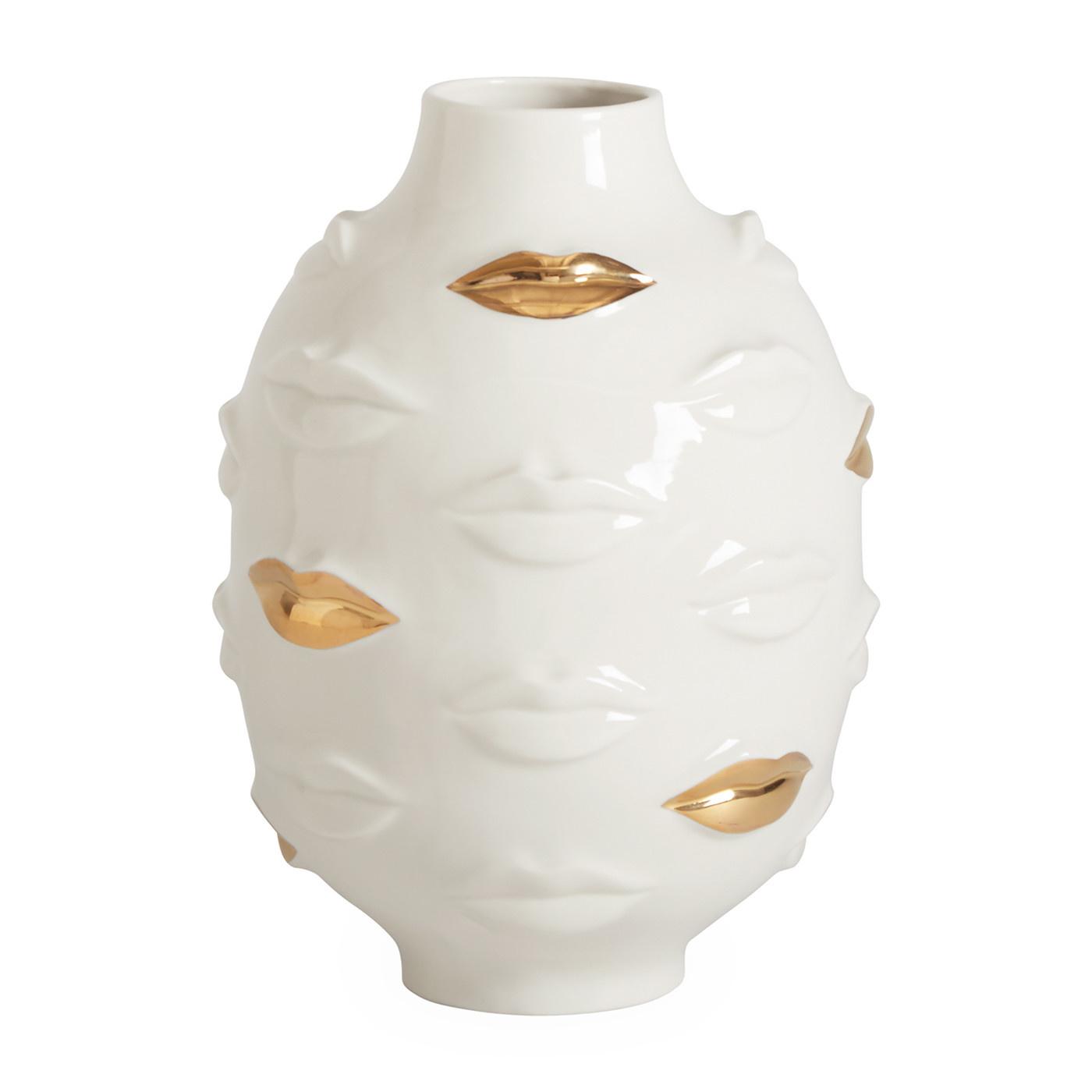 Jonathan Adler Jonathan Adler Gilded Muse Gala Round Vase