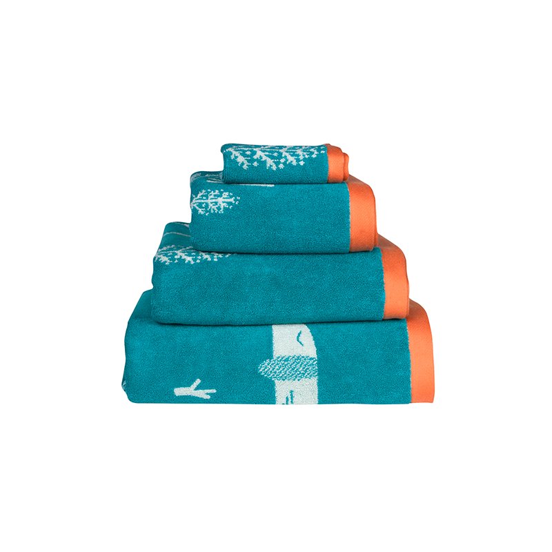 Donna Wilson Donna Wilson Sausage Dogs Bath Towel - more colors available