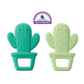 Sugarbooger Happy Cactus Silicone Teether