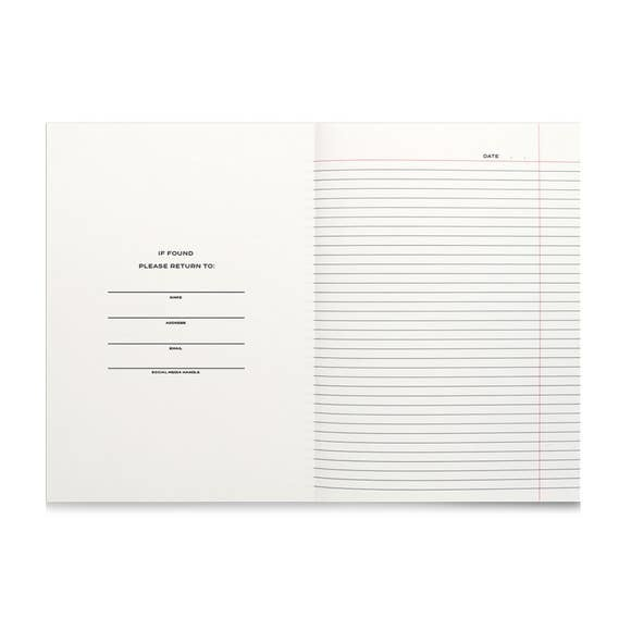 Wit & Delight Note To Self Journal - Green
