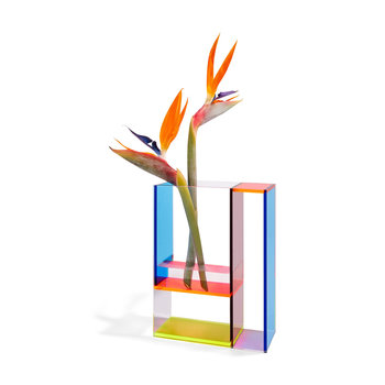 Aesthetic Movement Mondri Vase - Neon