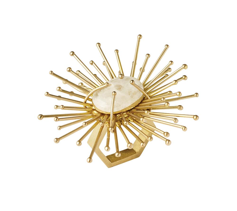 Kim Seybert Napkin Ring - Flare (Gold)