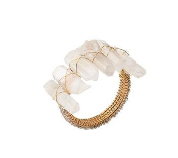 Kim Seybert Napkin Ring - Radiant (Iridescent)