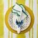 Kim Seybert Knotted Edge Napkin - White/Turquoise