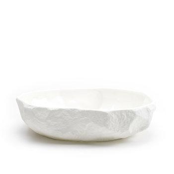 1882 Crockery White x Max Lamb - Large Flat Bowl