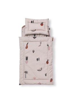 Ferm Living Ferm Living Fruiticana Doll Quilt Bedding Set