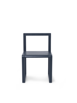 Ferm Living Ferm Living Little Architect Chair - Dark Blue