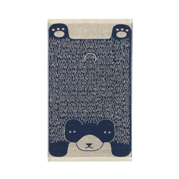 Donna Wilson Donna Wilson Bear Bath Towel - Blue