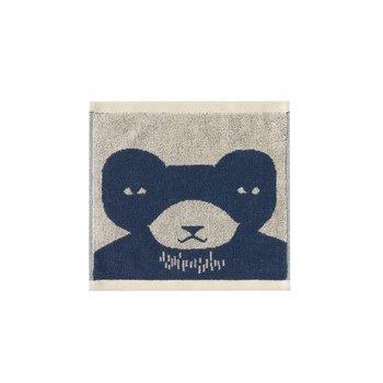 Donna Wilson Donna Wilson Bear Face Towel - Blue