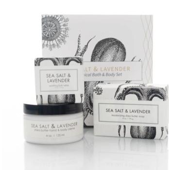 Formulary 55 Spa Gift Set - Sea Salt + Lavender