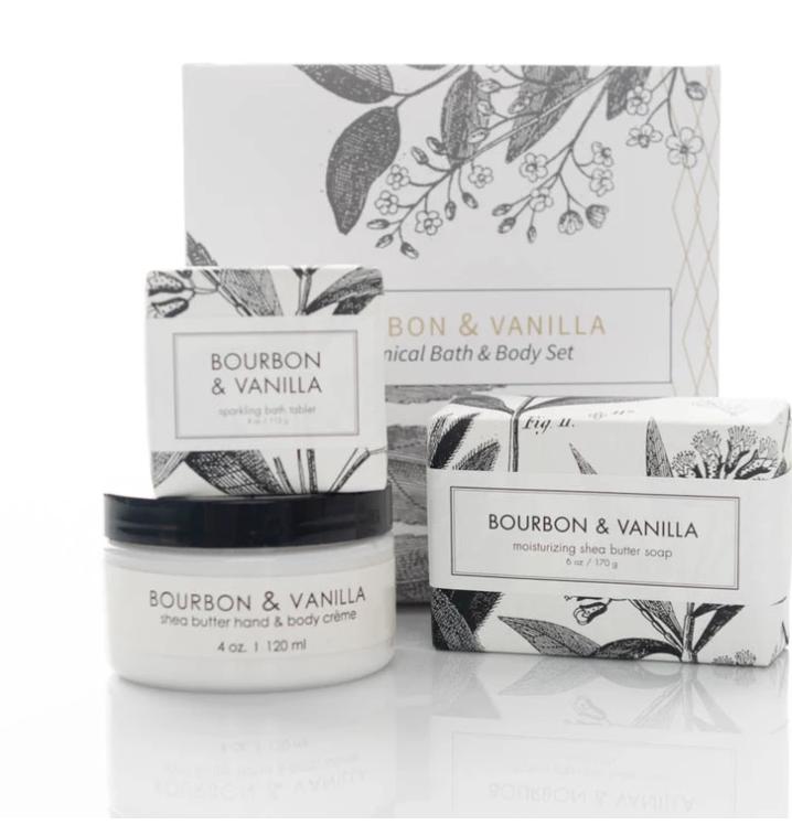 Formulary 55 Spa Gift Set - Bourbon + Vanilla