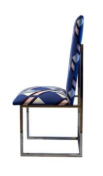 Milo Baughman Milo Baughman Chrome Dining Chairs