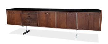 Milo Baughman Milo Baughman Large Custom Cabinet