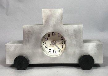 Godley and Schwan Godley & Schwan Modernist Aluminum Clock