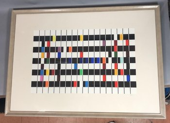 Yaacov Agam Yaacov Agam Pop Art Print, Signed & Numbered