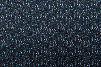The Grand Tour Lumbar Pillow: Electra Eggleston Fabric / Bali Indigo Eve