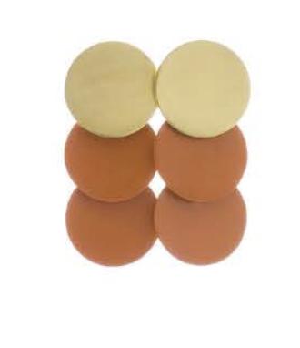 Sibilia Earrings: Three Circles  / Sm