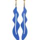 Sibilia Earrings: Seaweed LG Cielo
