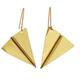 Sibilia Earrings: Little Paper Planes / Gold