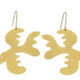 Sibilia Earrings: Free as a Bird LG Gold