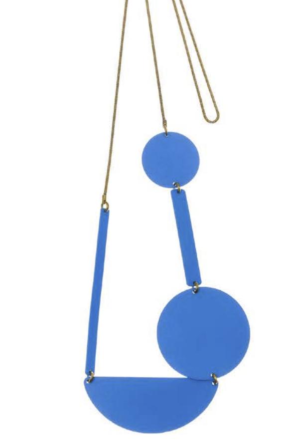 Sibilia Necklace: Simple Shapes