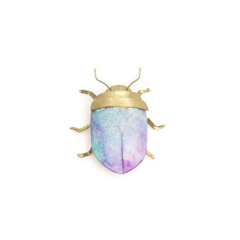 Sibilia Handicraft Brass Bug: Beetle SM Giverny