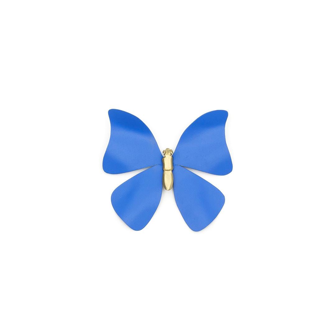 Sibilia Handicraft Brass Bug: Farfale Butterfly Sm Cielo