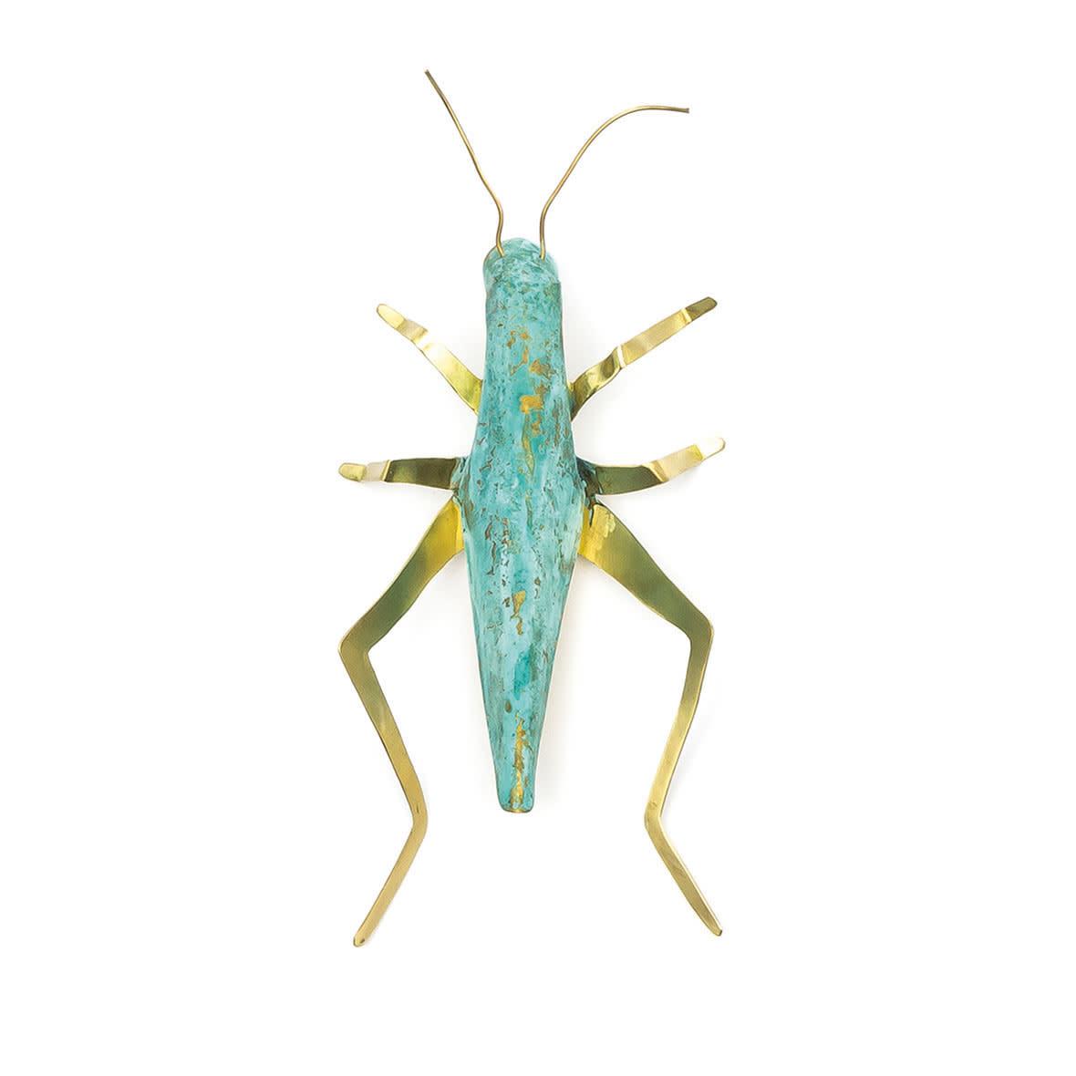 Sibilia Handicraft Brass Bug: Cricket LG