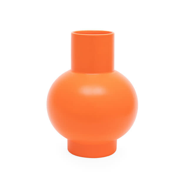 MOMA Raawii Relae Vase: Vibrant Orange / Small